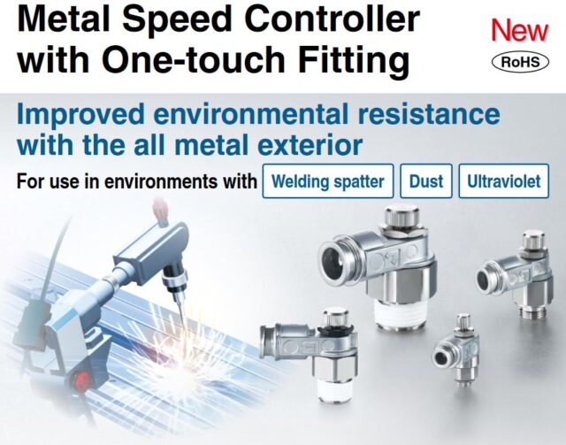 ASB Series - Metal Speed Controller with One-touch Fitting